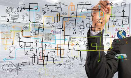 사업가 이윤을 증가시키기 해결책을 찾기