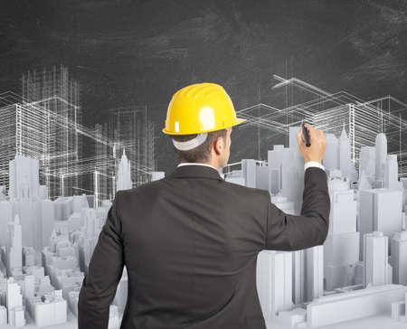concept: Architect ontwierp en bouwde een stedelijk project
