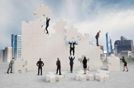 회사: 새로운 협력 회사의 건설