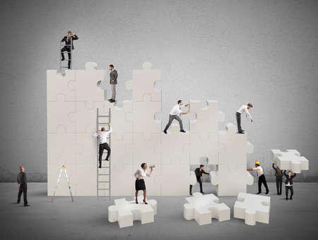 liderazgo empresarial: Construcci�n de un equipo nuevo y de colaboraci�n