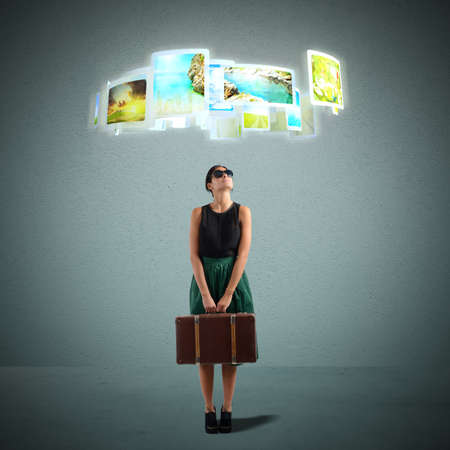 selects: Tourist seleziona la destinazione preferita dalle foto