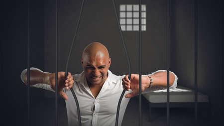 Empresario encarcelado por fraude intenta escapar