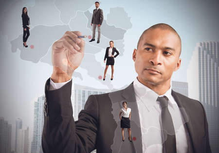 strong strategy: Manager places strong employees in market strategy