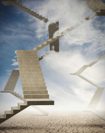 끝없는 계단과 많은 오르막길