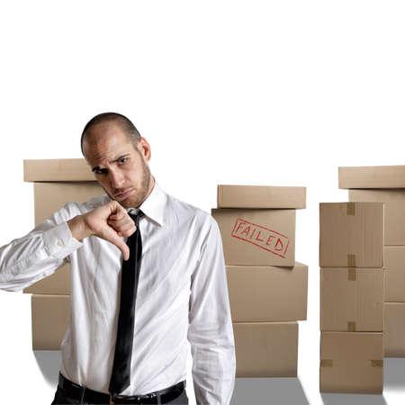 desconfianza: Empresario disparó y negativo para su futuro Foto de archivo