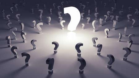 onbeantwoorde: Veel vragen onbeantwoord in een onzekere toekomst