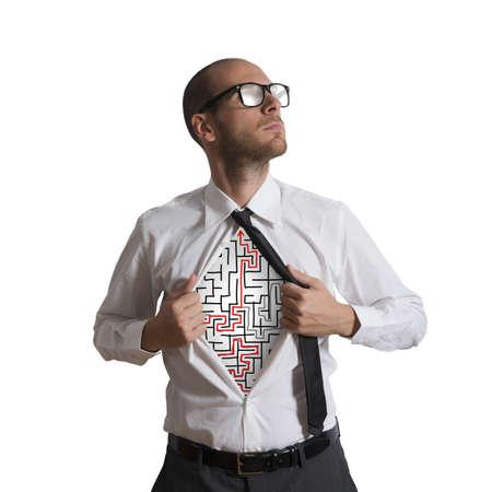 invincible: Determined businessman becomes a maze super hero