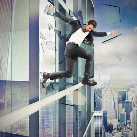 invincible: Businessman escapes by jumping off a skyscraper