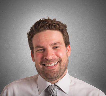 semblance: Ritratto di un uomo d'affari sorridente e ottimista