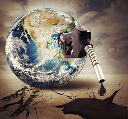 provided: Concept of damage fuel. Earth provided NASA