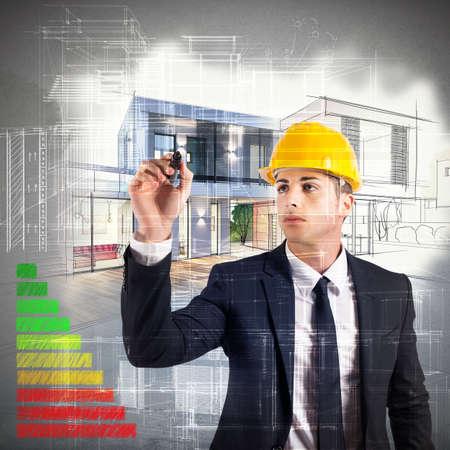 eficiencia energetica: Arquitecto diseña una certificación casa y energía