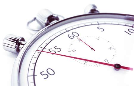 competition: Imagen de cronómetro que mide el tiempo Foto de archivo