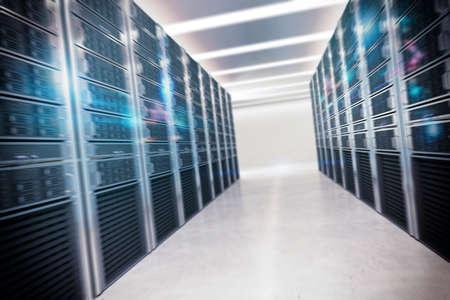 데이터를 수집하는 가상 방의 구조 스톡 콘텐츠