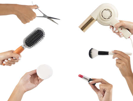 hand tool: Styling tools for make up and hair