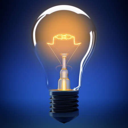 filament: Bulb filament that forms a small connection