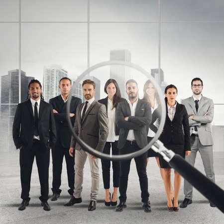 적합: 직장에 몇 적합한 후보자에 렌즈를 확대