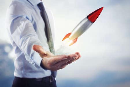 Startup working enterprise
