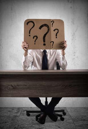 疑問文の実業家