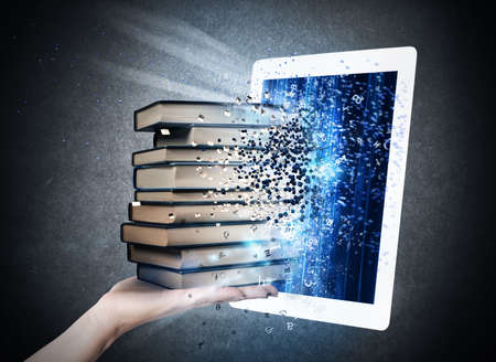 digital book: Reading books with an E-book