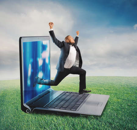web: Technology addiction concept