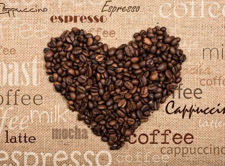 bailer: Love coffee Stock Photo