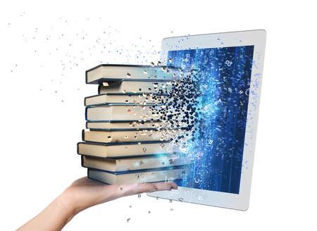 電子書籍で本を読む