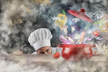 Magic kitchen Stock fotó