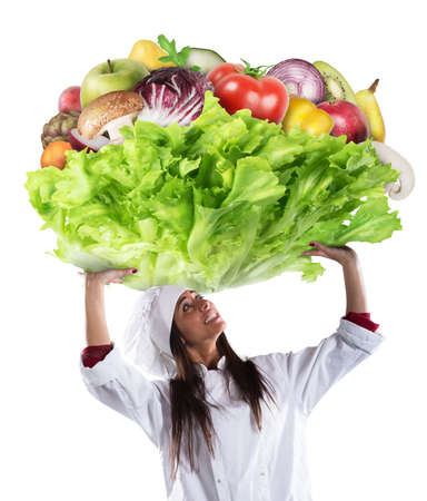 huge: Vegetarian chef
