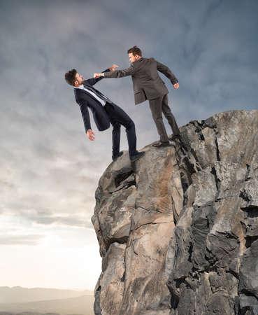 derrumbe: destitución forzada de un problema con el jefe