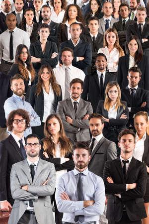 management team: Business team corporate Stock Photo