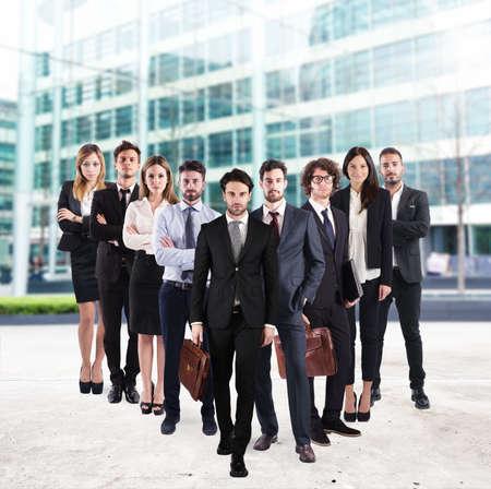 entreprise Business team