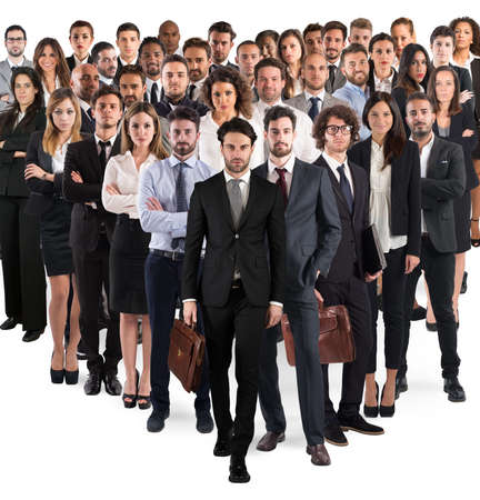 Business team corporate Фото со стока
