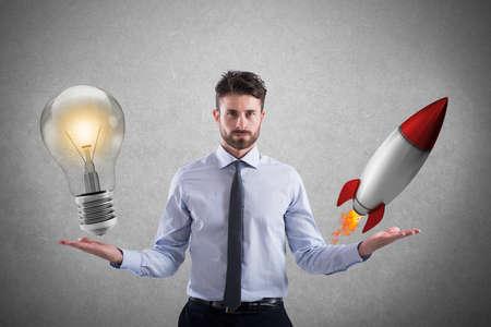 사업 아이디어 및 창업 스톡 콘텐츠