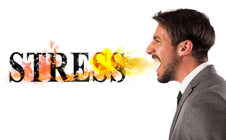 business life: Stressed business life