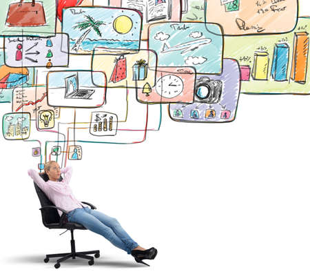 business: Think of life organization