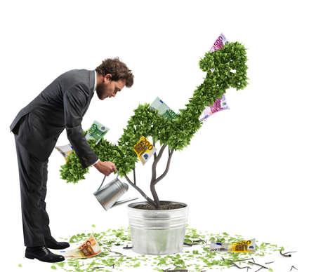 Cultivons l'économie Banque d'images - 78574114
