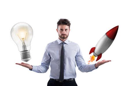 ビジネス アイデアとスタートアップ