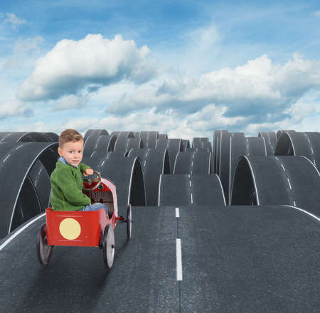 overcoming adversity: Difficult future of a kid with disjointed streets