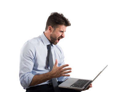 ストレスや欲求不満によるコンピューター