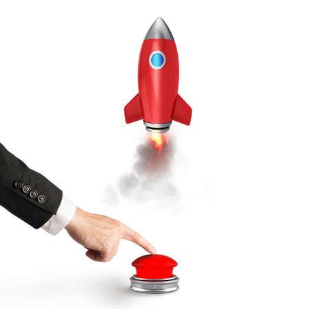 Concept of innovation and entrepreneurship. 3D Rendering Stock Photo