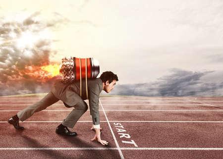 Druk om de doelen voor de anderen te bereiken