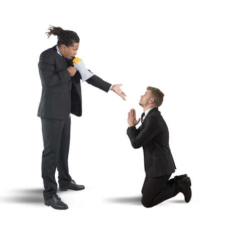 a boss dismiss a worker