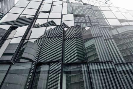 Modern building of a skyscraper. Concept of company success