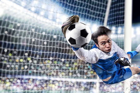 Football close up scene at the stadium Banque d'images - 134780358