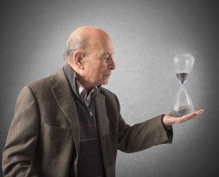 Elderly and the passage of time