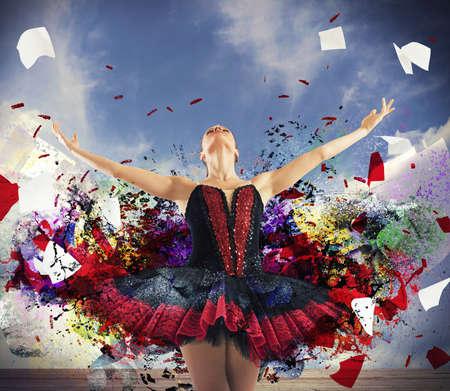 Danseuse spectaculaire