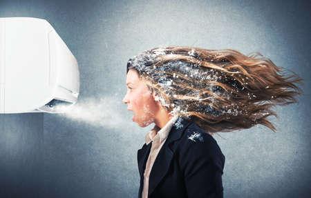 Powerful air conditioner Stockfoto