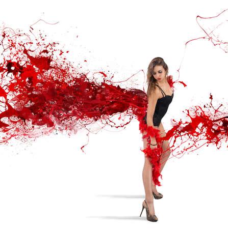 Show der roten Feder