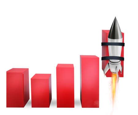 Rocket hilft, die Geschäftsstatistik zu verbessern, um erwachsen zu werden