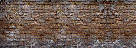 Grunge achtergrond van een muur van bakstenen